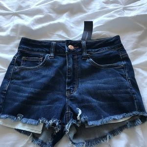american eagle jean shorts NEW W/ TAGS